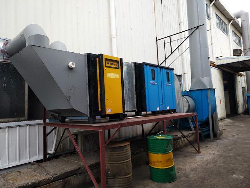 汽修噴漆廢氣處理設備