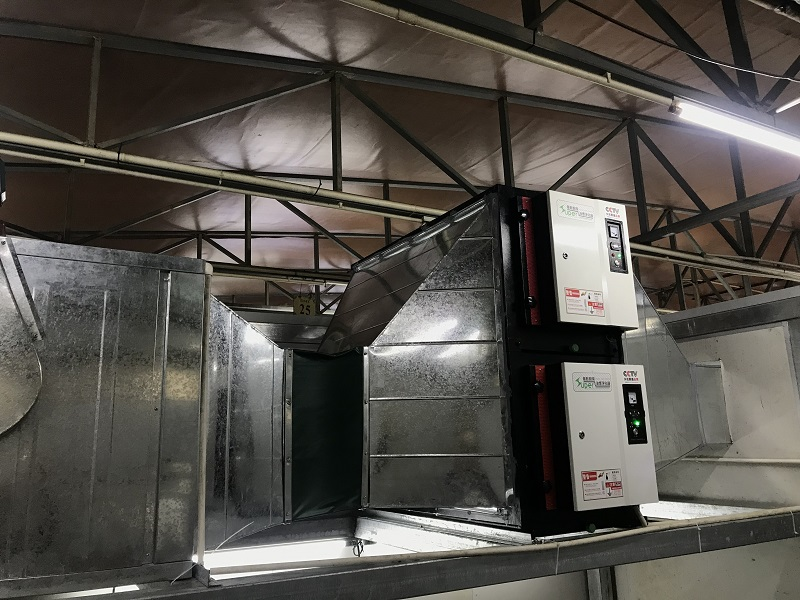 高效油煙凈化器調試完成.jpg