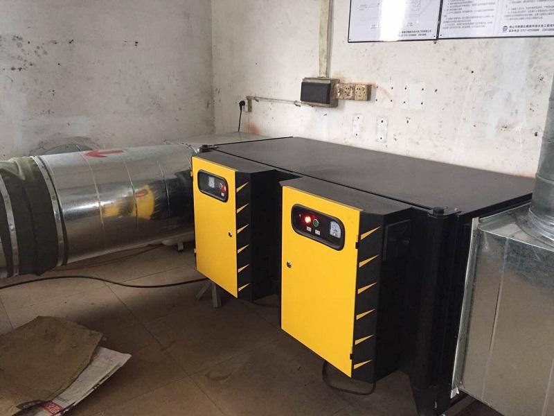 汽修廠廢氣處理設施